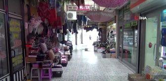 Lüleburgaz'da sokaklar ve meydanlar boş kaldı
