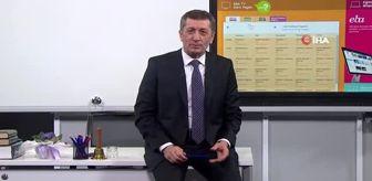 Milli Eğitim Bakanı Selçuk, TRT EBA TV'den öğrenci ve velilere seslendi