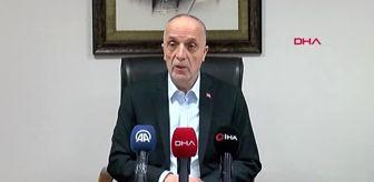 SAKARYA Türk-İş Genel Başkanı Atalay'dan işverene çağrı: Lütfen işçi çıkartmayın