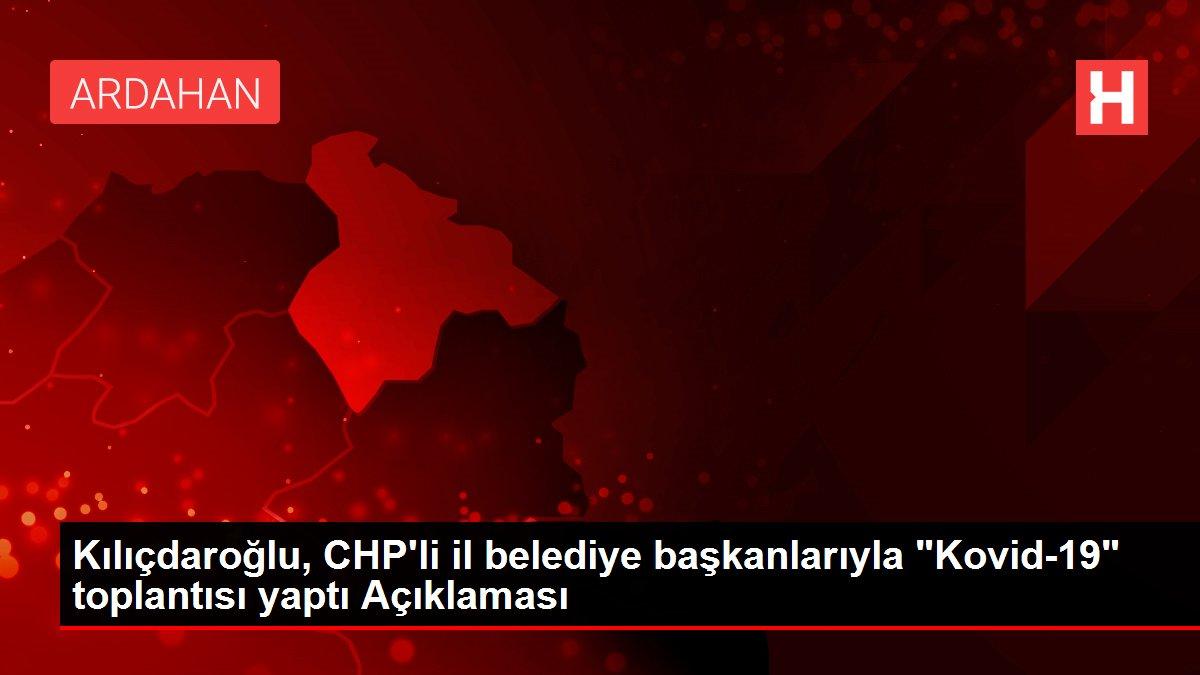 Kılıçdaroğlu, CHP'li il belediye başkanlarıyla