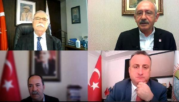 Kılıçdaroğlu'ndan video konferansla '65 yaş ve üstüne hassasiyet' talimatı
