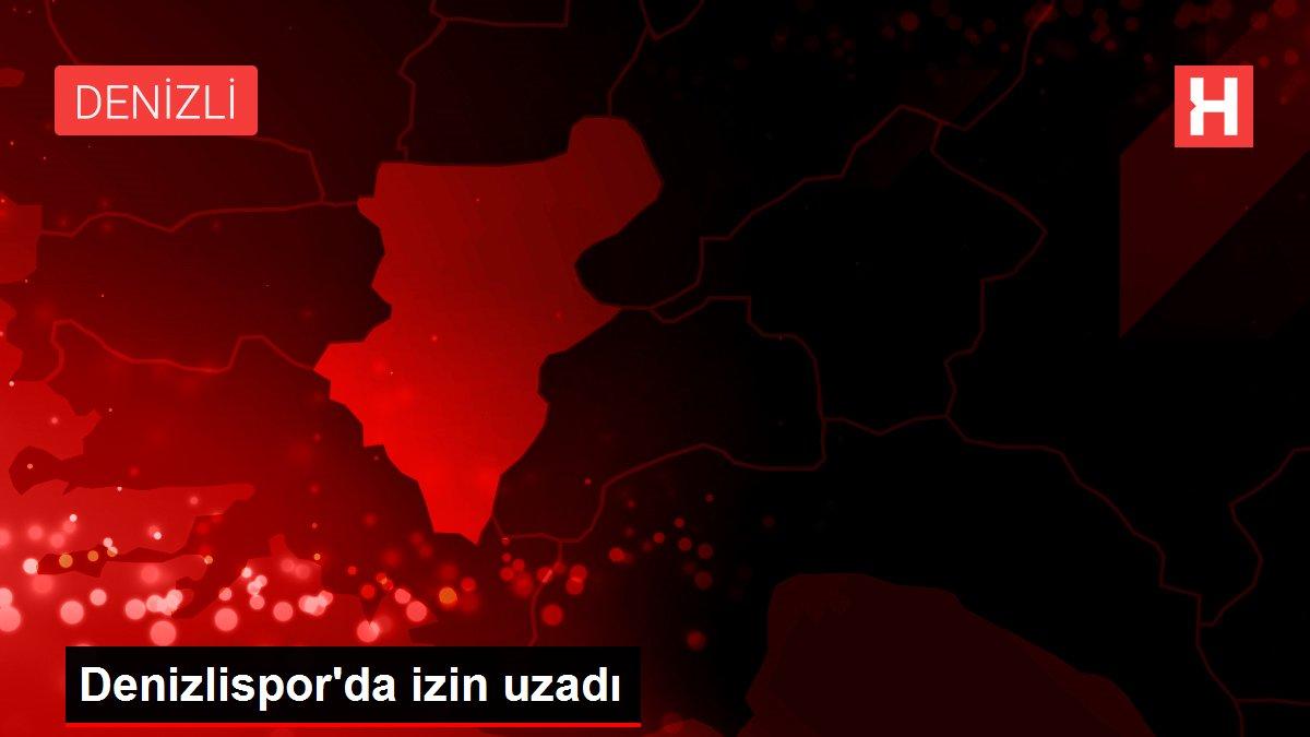 Denizlispor'da izin uzadı