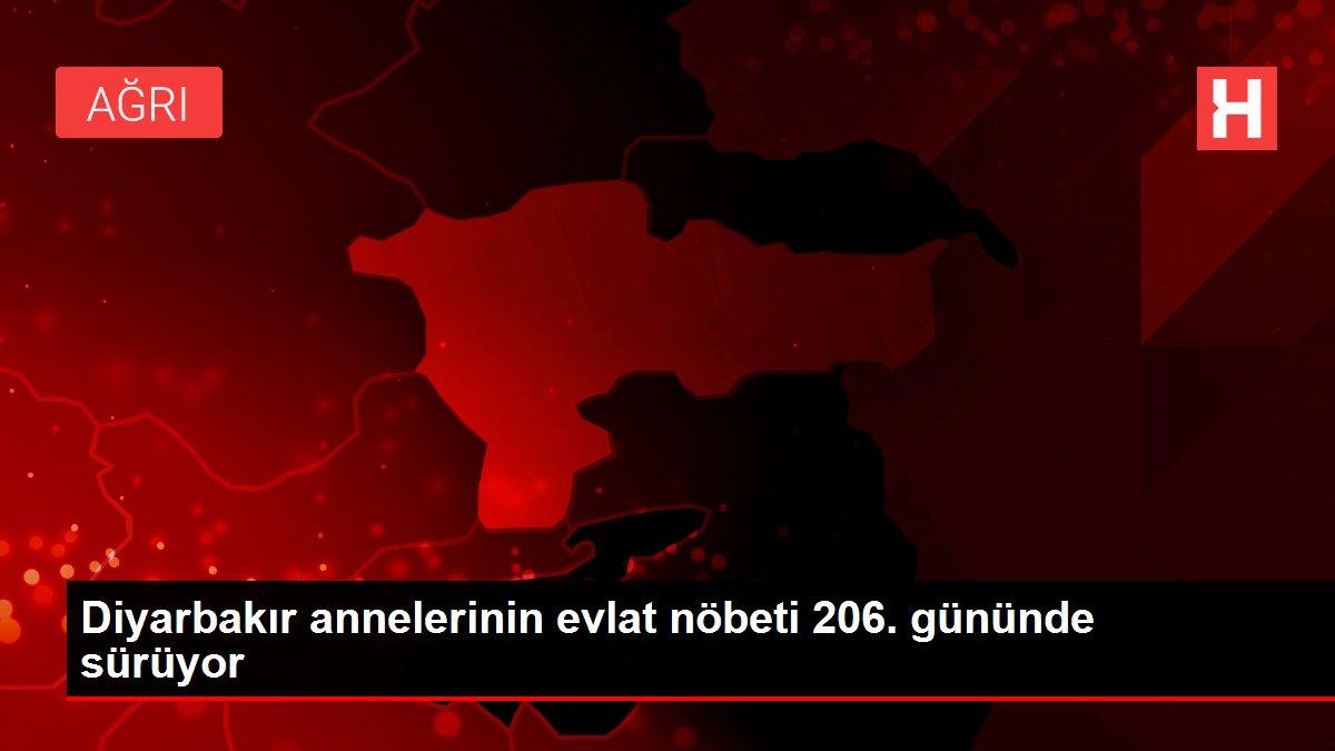 Diyarbakır annelerinin evlat nöbeti 206. gününde sürüyor