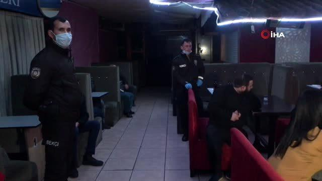 Polis, koronavirüs tedbirlerine uymayan gece kulübüne baskın düzenledi: 20 gözaltı