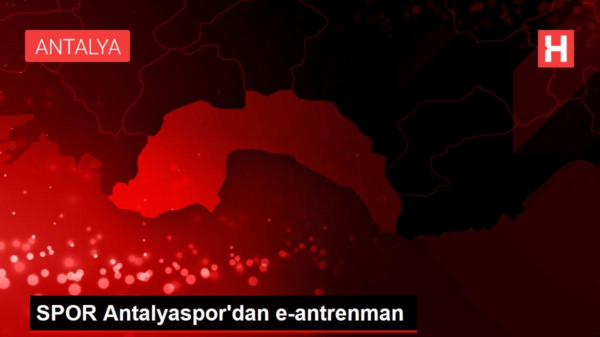 SPOR Antalyaspor'dan e-antrenman