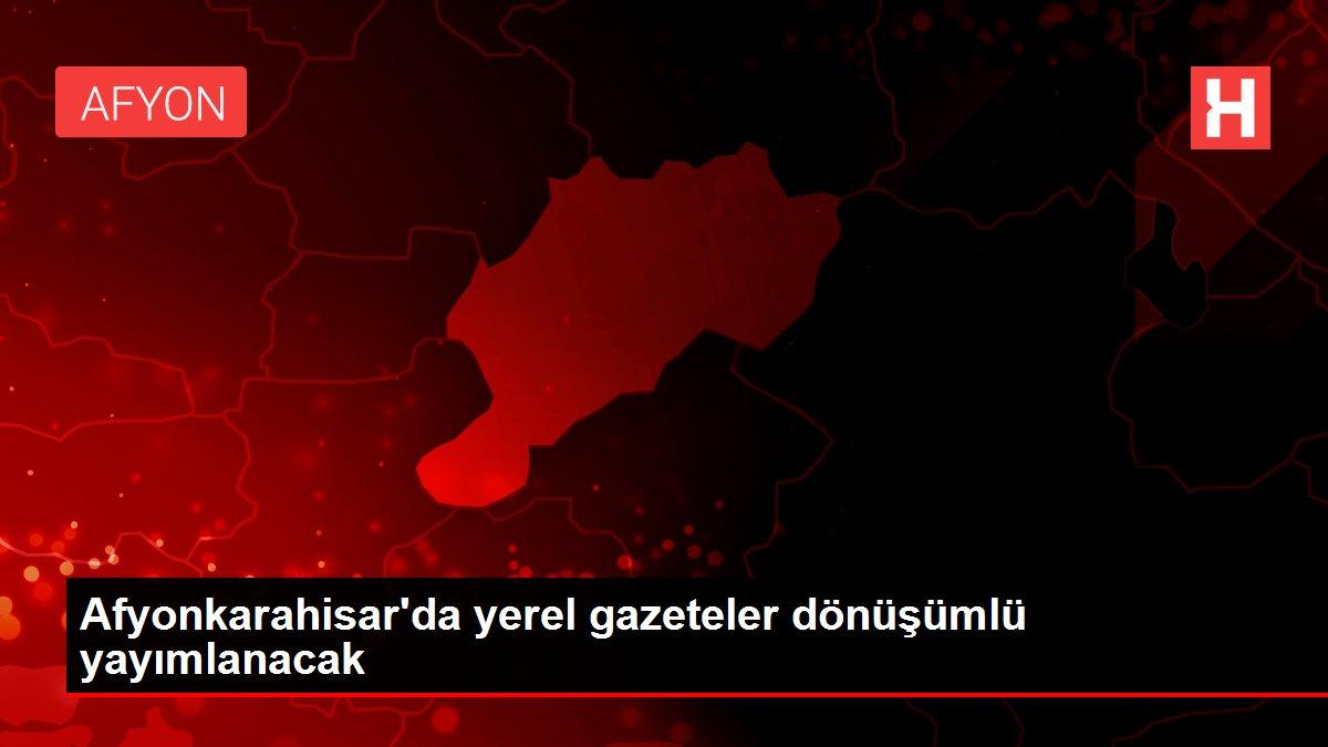 Afyonkarahisar'da yerel gazeteler dönüşümlü yayımlanacak