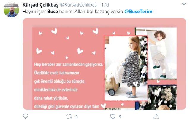 Buse Terim, yaptığı paylaşım nedeniyle eleştiri yağmuruna tutuldu