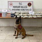 Hakkari'de 158 kilogram uyuşturucu ele geçirildi