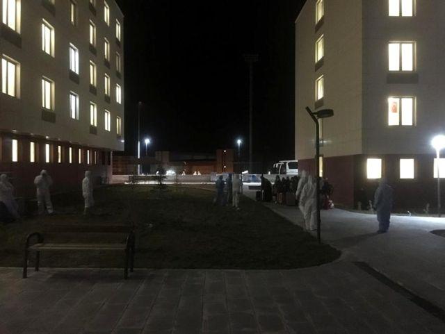 KKTC'den gelen 170 öğrenci ve şoför Niğde'de karantinaya alındı