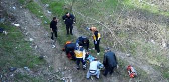 Süleymaniye: Köprüden atlayan genç yaralandı