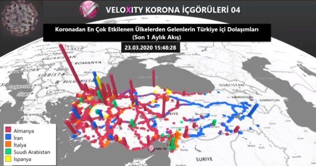 Koronavirüs Türkiye'ye böyle yayıldı! İşte adım adım Covid-19'un rotası