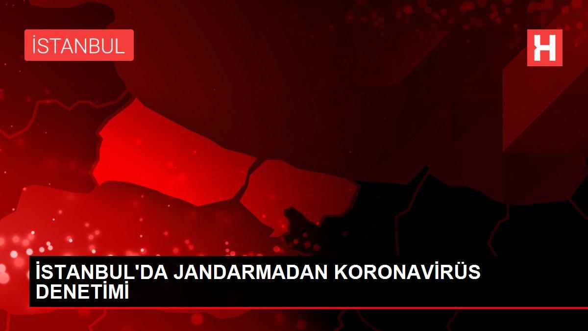 İSTANBUL'DA JANDARMADAN KORONAVİRÜS DENETİMİ
