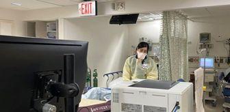 New York'taki doktorun paylaştığı görüntülerde hastanelerin koronavirüse karşı yetersiz kaldığı ortaya çıktı