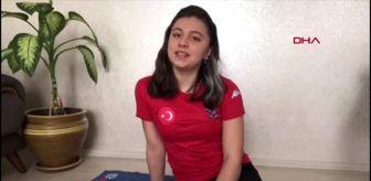 SPOR Modern pentatlonun sporcusu Selin Eyüpoğlu Hayalim olan olimpiyat için çalışmalarıma evde...
