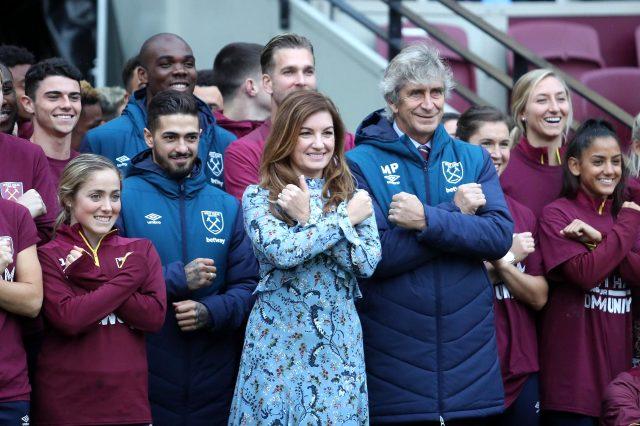 West Ham İkinci Başkanı Karren Brady, 8 futbolcuda koronavirüse rastlandığını söyledi
