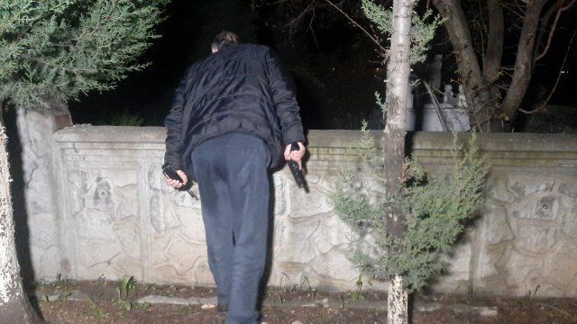 Adıyaman'da mezarlıktan gelen kadın çığlığı polisleri harekete geçirdi