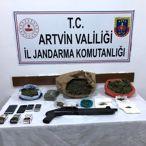 Artvin'de uyuşturucu operasyonunda yakalanan 6 zanlı tutuklandı