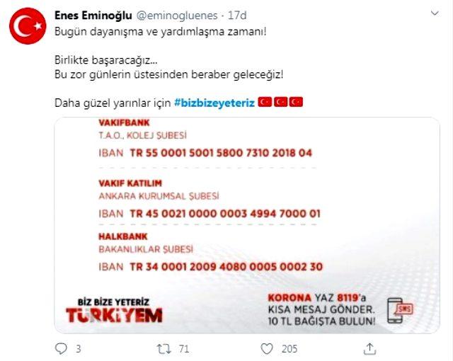 Cumhurbaşkanı Erdoğan'ın başlattığı 'Biz bize yeteriz Türkiyem' kampanyası sosyal medyada gündem oldu