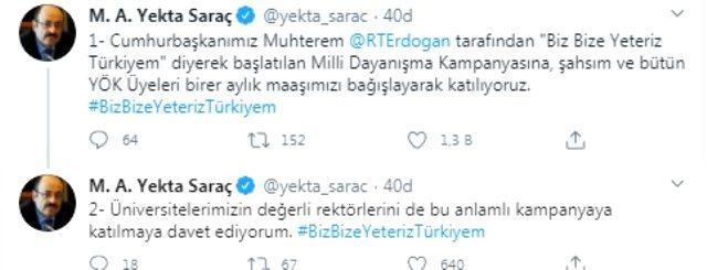 Cumhurbaşkanı Erdoğan'ın başlattığı kampanyaya destek yağdı