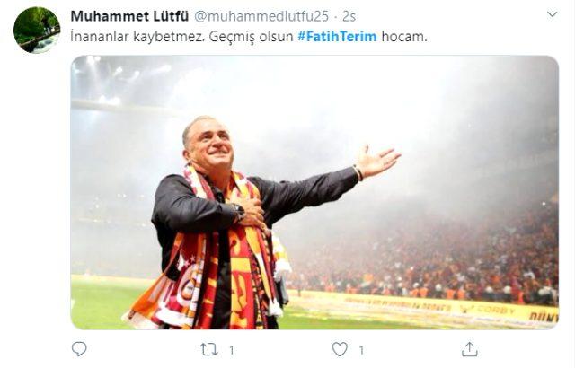 Fatih Terim taburcu oldu, sosyal medya yıkıldı