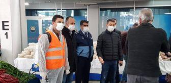 Gölbaşı Belediyesi: Gölbaşı'nda korona virüs denetimi