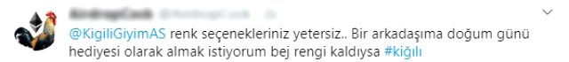 Kiğılı'nın internet sitesinden market ürünleri satması sosyal medyada alay konusu oldu