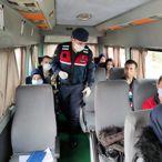 Manisa'da Kovid-19 tedbirleri sürüyor