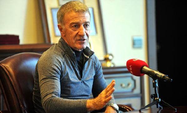 Ahmet Ağaoğlu: Futbolcularımızla yılık ücret indirimi gibi bir görüşme yapmadık