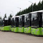 Kocaeli'de otobüslerdeki