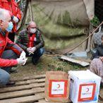 Türk Kızılay, ilk 30 bin gıda kolisini ihtiyaç sahiplerine ulaştırdı