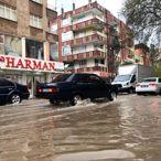 Adıyaman'da şiddetli yağış taşkınlara sebep oldu