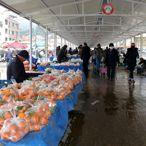 Muğla'da pazar yerine esnafın iki katı vatandaş alındı