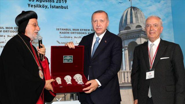 Son Dakika: İstanbul Rum Patrikliği ve Süryani Kadim Vakfı Milli Dayanışma Kampanyası'na toplamda 400 bin lira bağış yaptı
