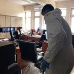 Tokat'ta adliye ve cezaevlerinde koronavirüs önlemleri alındı