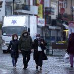 Trakya'da koronavirüs önlemleri ve yağışlı hava sokaklarda insan yoğunluğunu azalttı