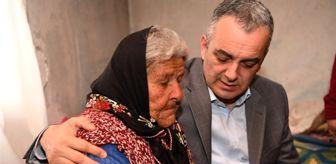 Karatepe: Alzheimer hastası 83 yaşındaki Elif nineye ev sürprizi