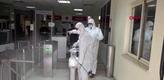 Şanlıurfa Adliyesi: Şanlıurfa'da adliye ve cezaevleri dezenfekte edildi