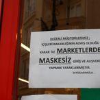 Keşan'da marketlerde maske denetimi yapıldı