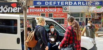 Kahramanmaraş'ta 14 yaşındaki kızıyla sokağa çıkan anneden polise tuhaf tepki: Gezeceğim