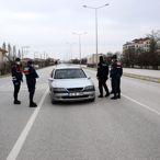 Konya'da araç giriş çıkış yasağı uygulanıyor