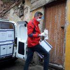 Türk Kızılay Tekirdağ'da ihtiyaç sahiplerine gıda kolisi dağıttı