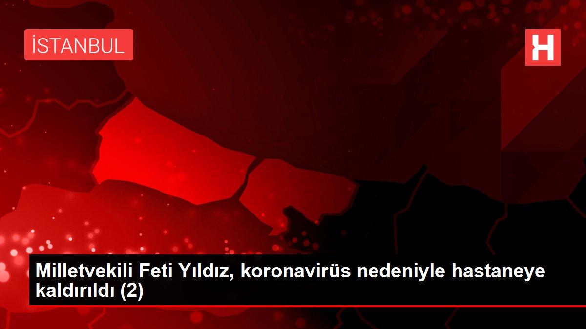 Milletvekili Feti Yıldız, koronavirüs nedeniyle hastaneye kaldırıldı (2)