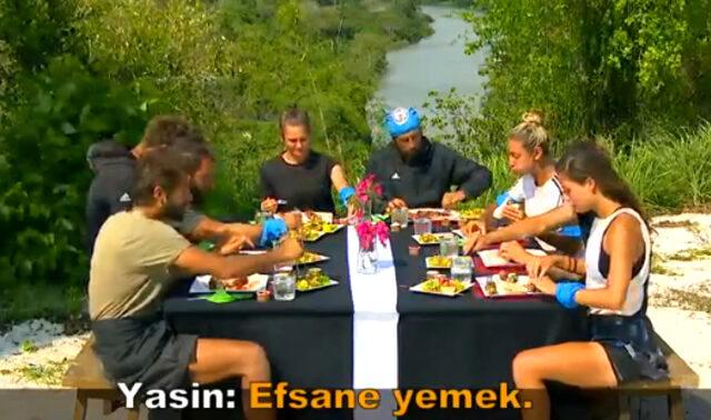 Survivor'daki yemek ödülünü eksik bulan Demet Akalın, Acun Ilıcalı'ya seslendi: Cimrilik yapıyorsun