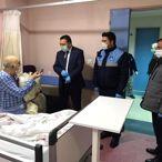Zabıtaya hitabıyla duygulandıran Burhan amcanın tedavisi sürüyor