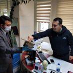 AK Parti Burdur İl Başkanlığından maske dağıtımı