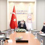 Bakan Zehra Zümrüt Selçuk, TÜRMOB ve TOBB Başkanlarıyla