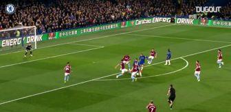 Eden Hazard'ın West Ham United Ağlarına Gönderdiği Harika Gol