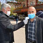 İslahiye'de koronavirüs tedbirleri
