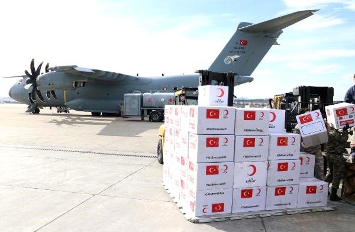 Türkiye'den 5 ülkeye sağlık malzemesi yardımı - Haber