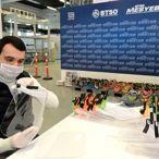 BTSO öncülüğünde sağlık çalışanları için 20 bin siperli maske üretildi